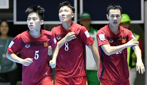 Tuyen futsal Viet Nam bat bai duoc Guatemala