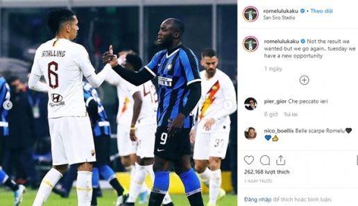 Thể thao 24h:Inter Milan hòa AS Roma, Lukaku gửi lời tuyên chiến đến Barca