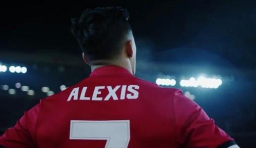 Alexis Sanchez, số 7 mới của Man United - Bóng Đá
