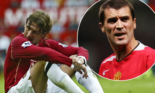 'Roy Keane knocked me out', reveals former Man Utd defender Gabriel Heinze - Bóng Đá