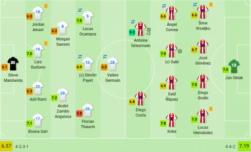 Griezmann tỏa sáng rực rỡ, Atletico lên ngôi xứng đáng tại Europa League - Bóng Đá