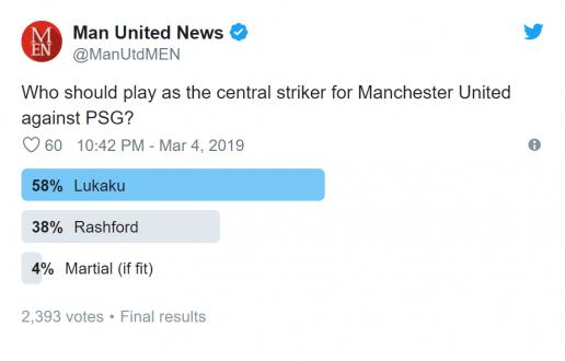 Manchester United fans send Ole Gunnar Solskjaer Romelu Lukaku message ahead of PSG clash - Bóng Đá