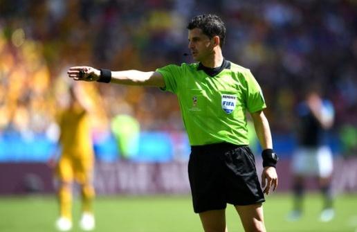 FIFA gây sốc với trọng tài bắt chính đại chiến Pháp vs Bỉ - Bóng Đá