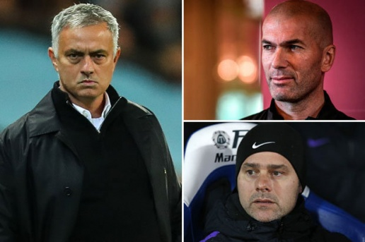 MAn United lại nhắm Zidane thay Mourinho - Bóng Đá