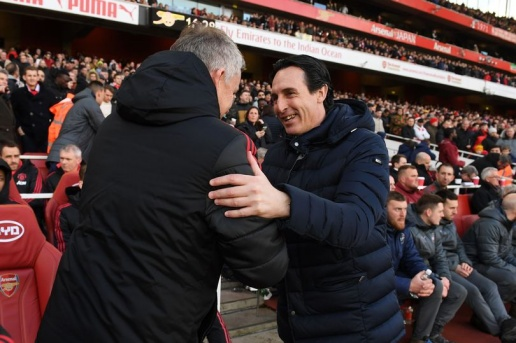 Arsenal manager Unai Emery sends message to Manchester United boss Ole Gunnar Solskjaer - Bóng Đá