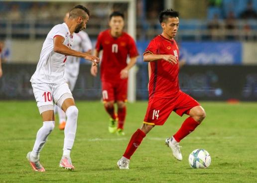 Chùm ảnh: Công Phượng tỏa sáng U23 Việt Nam nhấn chìm Plaestine - Bóng Đá
