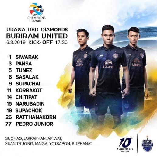 Sau 2 trận, Xuân Trường bị trả lại vị trí không mong muốn ở Buriram United - Bóng Đá