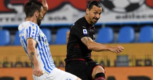 """Ibrahimovic """"tái xuất"""", Milan suýt thua đội bét bảng"""