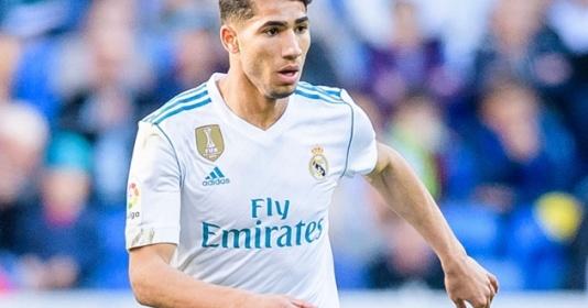 """""""Zidane là lý do khiến Hakimi đến Inter Milan""""   Bóng Đá"""
