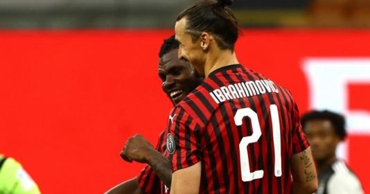 Thăng hoa trước Juve, Ibrahimovic để ngỏ khả năng rời Milan