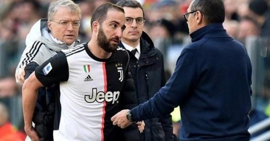 """Đội bóng cũ của Rooney muốn """"giải cứu"""" Higuain từ Juve..."""