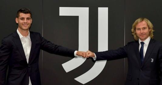 CHÍNH THỨC: Alvaro Morata quay trở lại Juventus   Bóng Đá