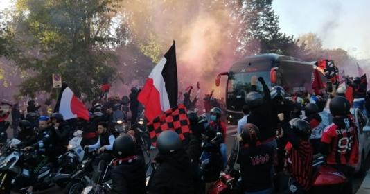 Đánh bại Inter, CĐV Milan ăn mừng như vừa giành Scudetto | Bóng Đá