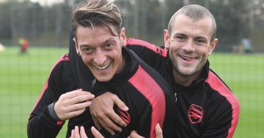 Jack Wilshere ca ngợi tài năng của Mesut Ozil   Bóng Đá