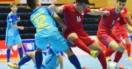 Tân Hiệp Hưng vùi dập tân binh tại giải Futsal VĐQG 2018   Bóng Đá