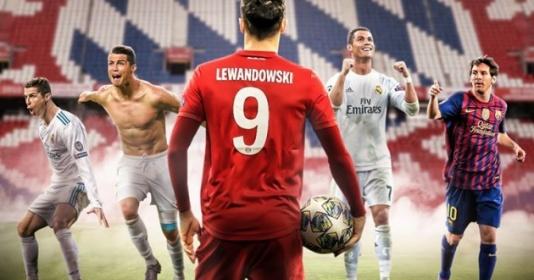 Lewandowski là cầu thủ đầu tiên sau Messi, Ronaldo làm được điều này | Bóng Đá