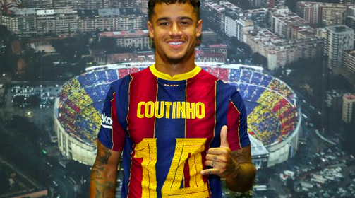 Philippe Coutinho được trao số áo quan trọng tại Barcelona | Bóng Đá