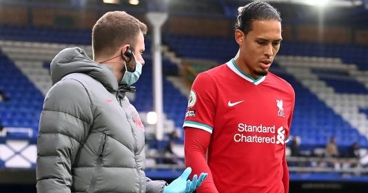 CHÍNH THỨC! Liverpool loại Van Dijk khỏi danh sách dự Premier League