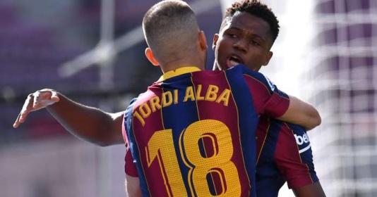 Sút tung lưới Real, Ansu Fati lập kỷ lục khủng khiếp ở El Clasico | Bóng Đá