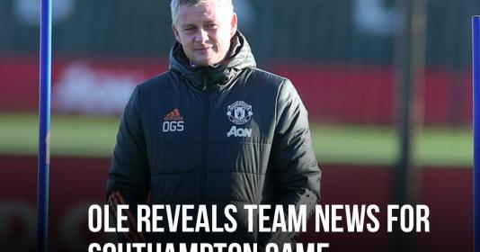 Man Utd mất 4 cái tên trận đấu gặp Southampton | Bóng Đá