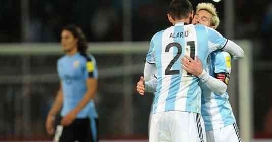 Vòng loại World Cup 2018: Messi tái xuất, Argentina thắng tối thiểu Uruguay | Bóng Đá