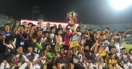 Kết thúc V-League 2016: Hà Nội vô địch nghẹt thở, Hải Phòng về nhì tiếc nuối   Bóng Đá