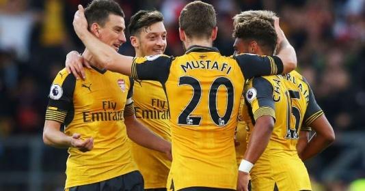 Arsenal đã biết làm bạn với thần may mắn   Bóng Đá