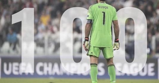 Buffon cán mốc ''100'' trong ngày buồn của Juventus | Bóng Đá