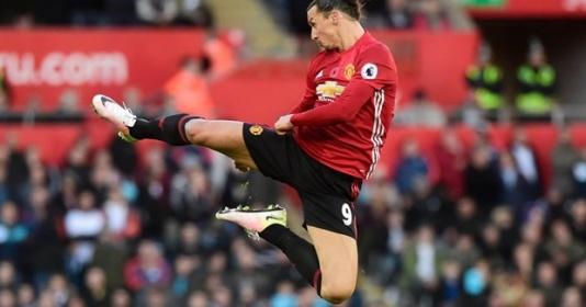 Lập cú đúp, Ibrahimovic đi vào lịch sử Premier League | Bóng Đá