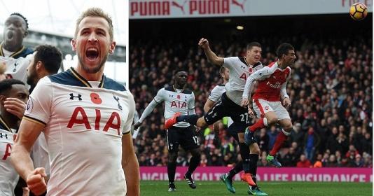 Wimmer ghi bàn dùm, Arsenal vẫn không thể thắng vì Harry Kane   Bóng Đá