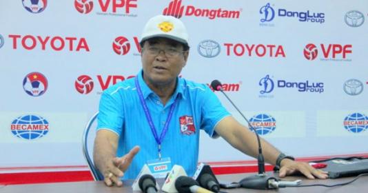 HLV Bình Sự chia sẻ bí quyết giúp Bình Dương có điểm trước Hà Nội