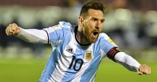 ''Vị thần'' Leo Messi gánh cả Argentina đến World Cup 2018 | Bóng Đá