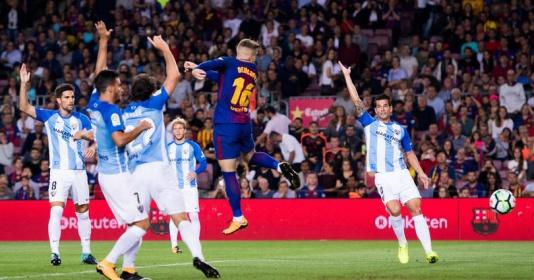 Hai đội tranh cãi nảy lửa vì 'bàn thắng ma' của Barca