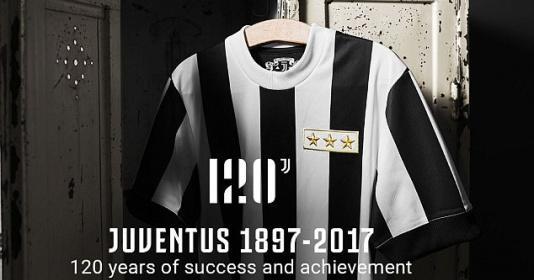 Juventus tung mẫu áo độc, mừng 120 năm thành lập   Bóng Đá