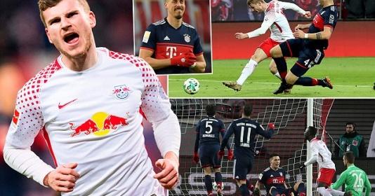 Sao Liverpool bùng nổ, RB Leipzig quật ngã Bayern Munich