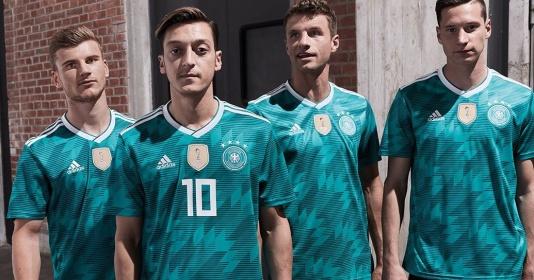 Tuyển Đức tung áo World Cup 2018 đẹp rụng rời