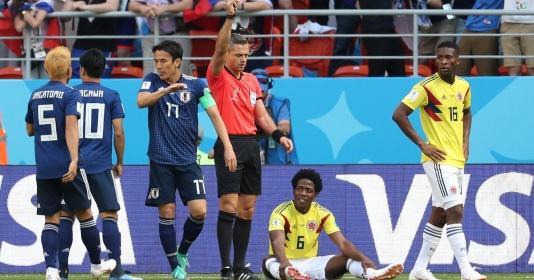 Trọng tài có nặng tay với Colombia khi không cần hỗ trợ VAR?   Bóng Đá