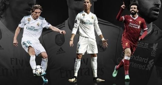3 ứng viên cho danh hiệu POTY: Có Ronaldo, không Messi