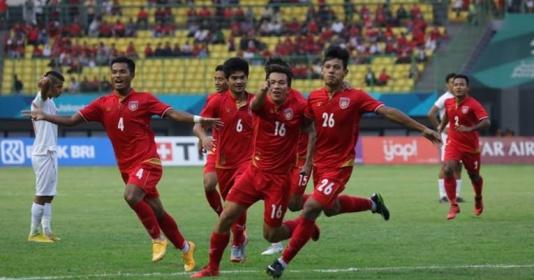 """Đánh gục """"ông lớn"""" Iran, U23 Myanmar vẫn bị loại cùng U23 Thái Lan"""