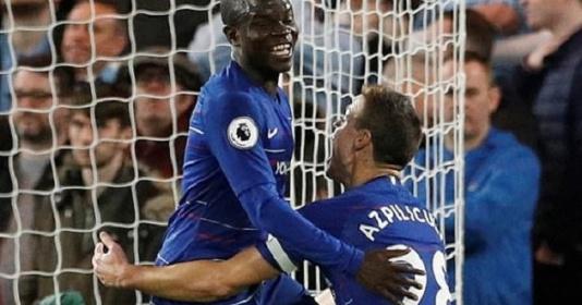 Kante, Luiz rực sáng, Man City chấp nhận thất bại đầu tiên ở Premier League