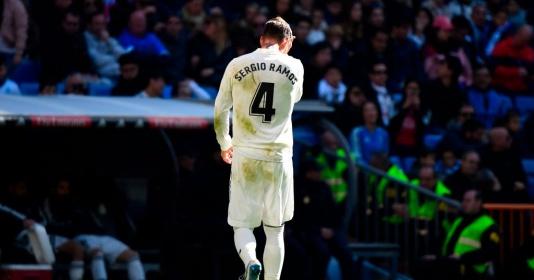 Ramos lập kỷ lục nhận nhiều thẻ đỏ nhất lịch sử La Liga   Bóng Đá