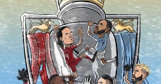Chiến thắng của Man City ảnh hưởng thế nào tới cuộc đua vô địch Premier League?