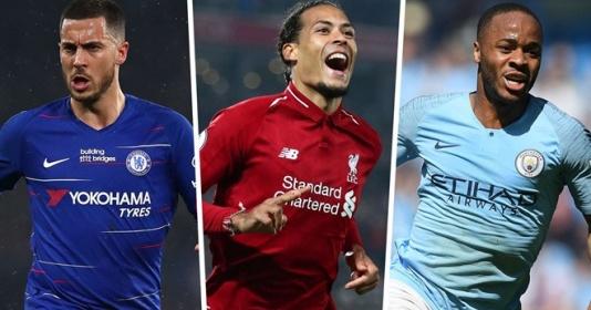 ĐHTB Ngoại hạng Anh 2018/2019 sau 38 vòng đấu: 3 ông lớn góp mặt   Bóng Đá