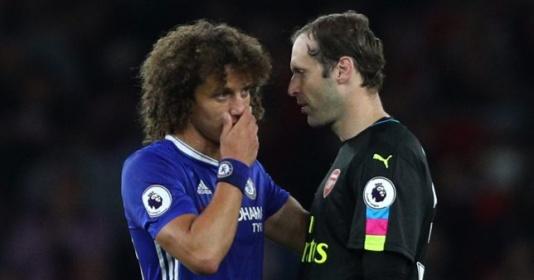 Tổ lái ngoạn mục, David Luiz nói điều gây sốc tới Petr Cech | Bóng Đá