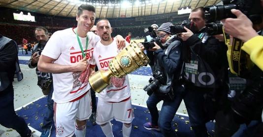 """Hậu trận CK cúp quốc gia: """"Người vĩ đại"""" Ribery, kỷ lục gọi tên Lewy"""