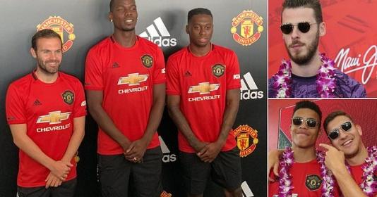 De Gea ngầu hết phần thiên hạ khi Man Utd dự sự kiện ở Singapore | Bóng Đá