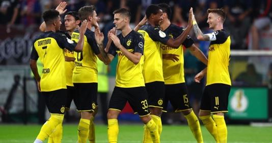 "Dortmund bất ngờ ""hóa Man City"" trong trận thắng KFC Uerdingen"