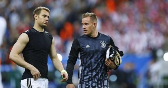 Vòng 3! Cuộc khẩu chiến vị trí thủ môn ở đội tuyển Đức