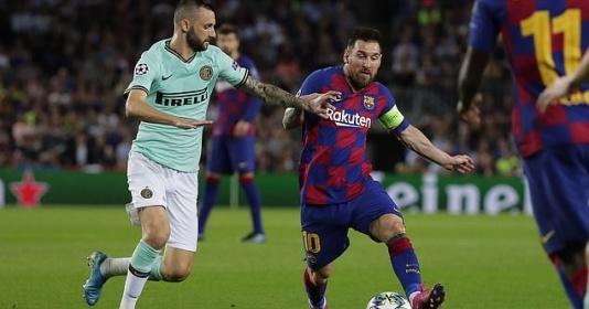 """Messi """"củ hành"""" Inter Milan như chưa hề dính chấn thương"""
