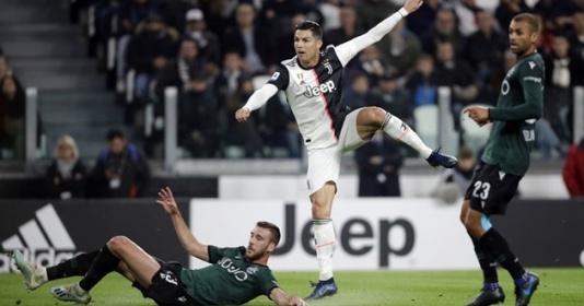 Sút tung lưới Bologna, Ronaldo đạt hiệu suất siêu khủng | Bóng Đá